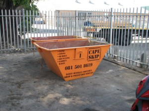 Cape Skip delivery to site