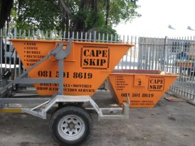 Cape Skip collection from site