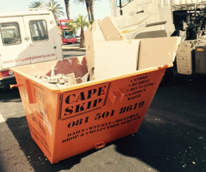 fill mini skip rental on site